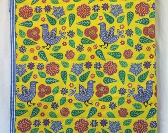 Yellow Garden Australian quilt