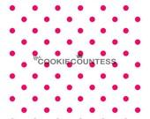 Small Dots mini stencil