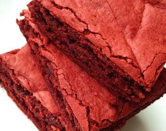 Brownies - Red Velvet Brownies - Blondies - Gourmet Edible Sweets – Bakery