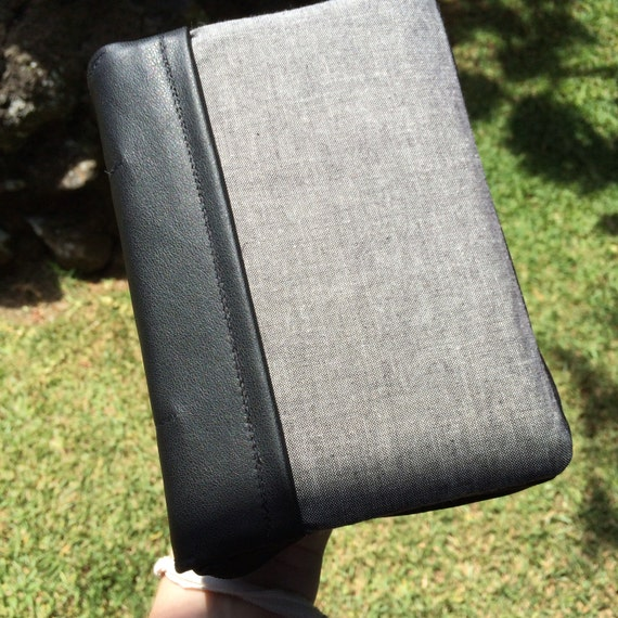 how to make a bible cover with zipper