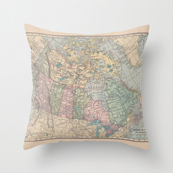 Canadian Inspired Home Decor Canada Pillow Via Etsy