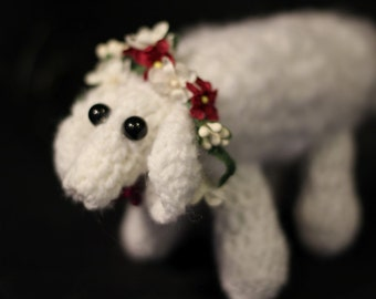 Colonial Doll's Lamb