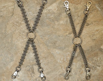 Chainmail Hogtie - Stainless Steel (For Consensual Kink Play)