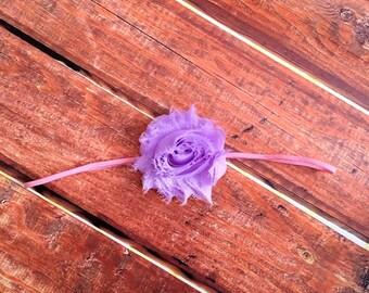 Rapunzel Headband - Purple Headband, pink headband, rapunzel headband, Disney headband, newborn headband, photo prop, Disney inspired