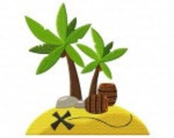 Treasure Island Machine Embroidery Design