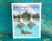 Handmade Silver Plated Sea Shell and Freshwater Pearl Earrings