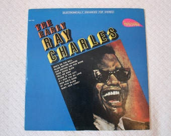 The Early Ray Charles Vinyl Record