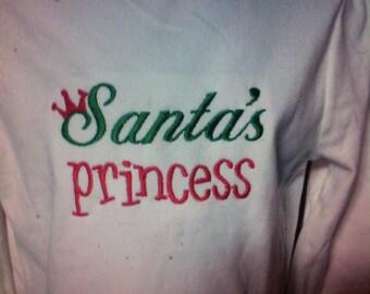 Santa princess turtle top