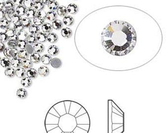 Crystal Swarovski Crystal Flat Back Non hotfix