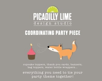 Printable Party ADD-ON - accessorize your party