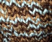 Snowflake Rib Knit Hat