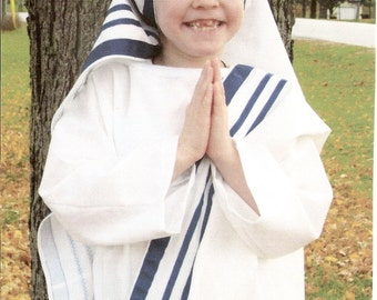 Mother Teresa  Costume for Girls