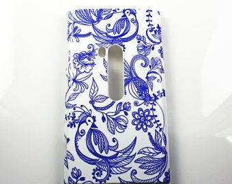 Bluebirds Retro Nokia Lumia 920 Hard Shell Case Skin Cover