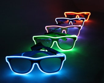 Light Up Glasses - Festivals, Birthdays, EDM, Bachelorette Parties, Christmas, Batteries Included