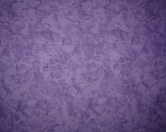 Per Yard, Frosty Purple Mottled Quilting Fabric