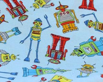 Per Yard, Robots Fabric