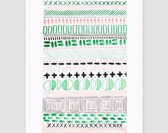 "Art print ""folklore No.7"""