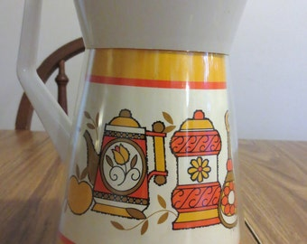 1960/1970s Serv Pro West Bend Insulated Coffee Carafe