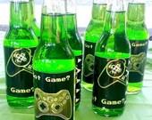Gamer Party Soda Bottle Labels