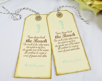 Wedding Gift Tag Wording : Wedding Favor Tag/Welcome Gift Tag/Beach Wedding Thank You Tag/Bridal ...