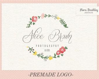 Custom Logo Design and Watermark - Premade  FB116
