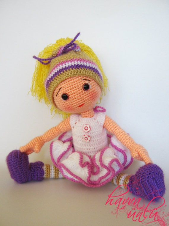 PATTERN Eva Doll crochet amigurumi by HavvaDesigns on Etsy