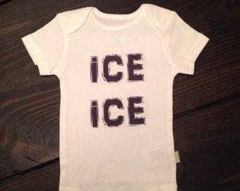 Ice ice baby onesie for baby