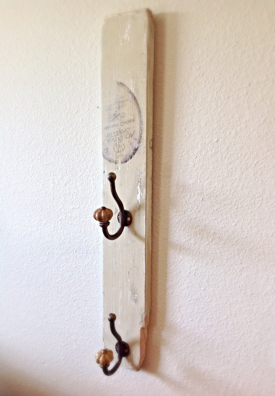 Key holder reclaimed wood wall key holder with by Hooks for the wall