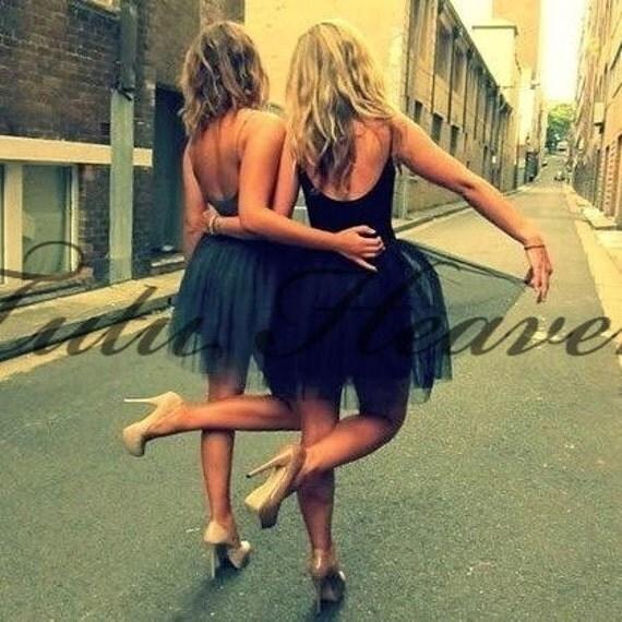 BLACK Tutu . XSmall thru XX Large Size Adult Ballet Tutu Skirts . Free Shipping