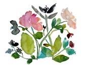 May Day - watercolor pain...
