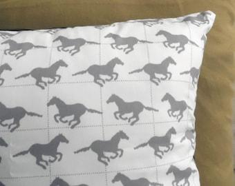 Wild Horses Cushion Cover
