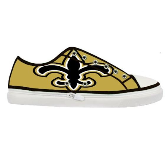 New Orleans Saints Canvas Shoes