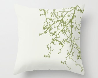 green olive beige tan white tree cushions throw pillow with modern design pillows case cushions or  pillows cushion cover covers for gift