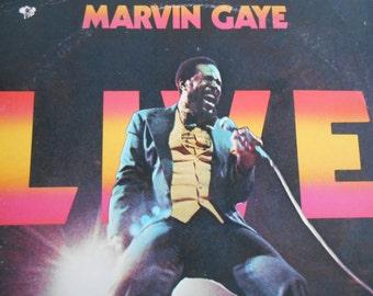 Marvin Gaye- Live At the London Palladium-vinyl record
