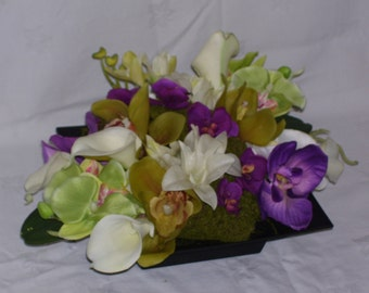 Tropical Garden Centerpiece
