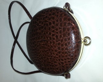 Retro vintage purse for the evening from 1950s