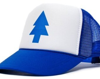 Dipper Pines from Gravity Falls Trucker Hat Mesh Hat  Snap Back Hat royal