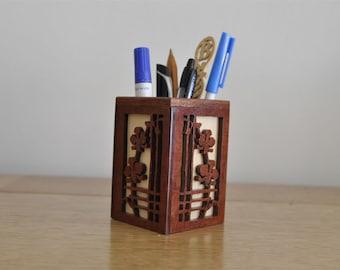 Pencil and pen box