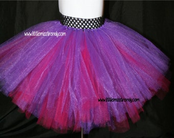 Purple and Pink Tutu, Tutu Skirts, Children's Tutu Skirts, Newborn tutu, Pink Purple Tutu