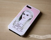 Cher Horowitz Clueless iPhone 5 5s protective phone case ''Ugh, as if!'' Alicia Silverstone pink