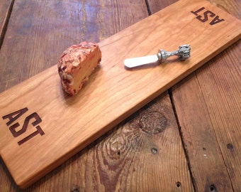 Laser ENGRAVED CHEESE / BREAD Board. Personalized cutting board