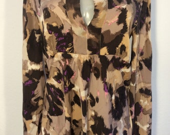 FREE   SHIPPING  Diane Von Furstenberg Silk Blouse