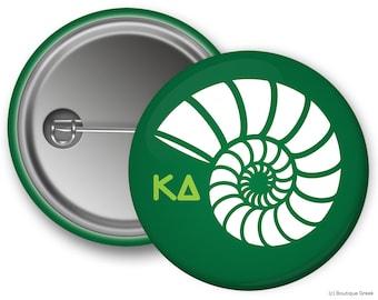KD Kappa Delta Nautilus Sorority Greek Button