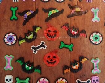 9 Piece Assorted Bumper Halloween Pack. Halloween, trick or treat, decoration.