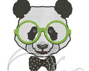 MACHINE Applique&Embroidery file - Panda applique
