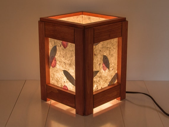 items similar to wood lamp reclaimed wood lighting bedroom lamp table lamp living room lamp. Black Bedroom Furniture Sets. Home Design Ideas