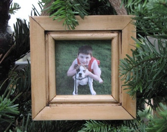 Handmade Mini Wood Picture Frame - Great Gift and Home Decoration