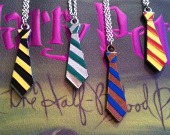 Hogwarts Gryffindor House Tie Necklace