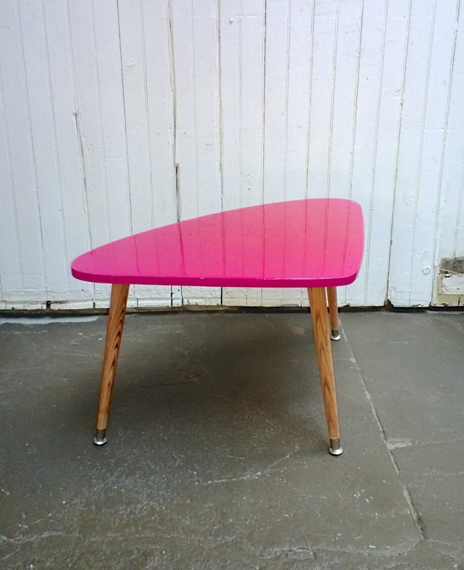 Boomerang Mid Century Modern End Table Atomic Age Furniture