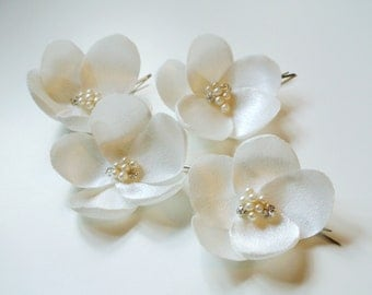 Bridal Headpiece, Wedding Hair Piece ,  Flower Hair Pins, Bridal Hair Flowers,  Hair Accessory